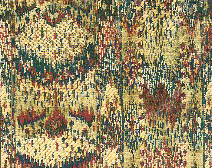 Ikat Chenille Tapestry