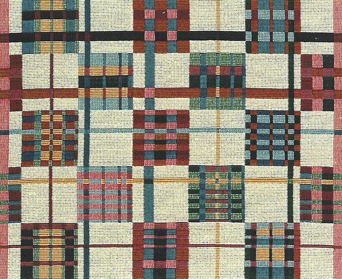 Multi-Plaid-Check Tapestry